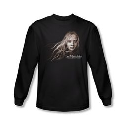 Les Miserables Shirt Cosette Face Long Sleeve Black Tee T-Shirt