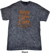 Leukemia Cancer Awareness Hope Love Cure Mineral Tie Dye Shirt