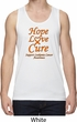 Leukemia Cancer Hope Love Cure Dry Wicking Tank Top