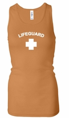 Lifeguard Ladies Tank Top Longer Length Racerback Tanktop