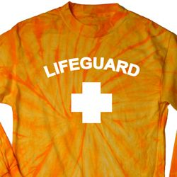 Lifeguard Long Sleeve Tie Dye Shirt