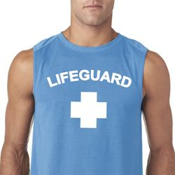 Lifeguard Mens Sleeveless Shirt