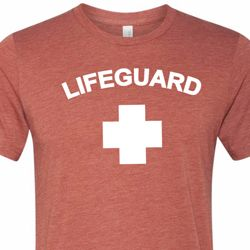 Lifeguard Mens Tri Blend Crewneck Shirt