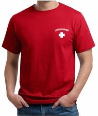 Lifeguard Organic T-Shirt Pocket Print