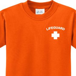 Lifeguard Pocket Print Kids Shirt