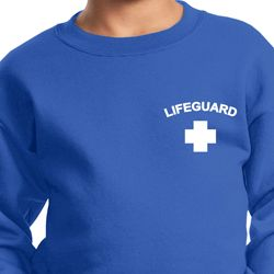 Lifeguard Pocket Print Kids Sweatshirt