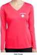 Lifeguard Pocket Print Ladies Dry Wicking Long Sleeve Shirt