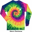 Lifeguard Pocket Print Long Sleeve Tie Dye Shirt