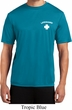 Lifeguard Pocket Print Mens Moisture Wicking Shirt