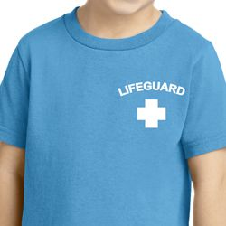 Lifeguard Pocket Print Toddler Shirt