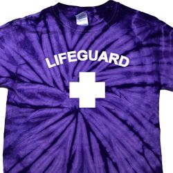 Lifeguard Spider Tie Dye Shirt