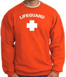 Lifeguard Sweatshirt Adult Pullover