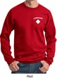 Lifeguard Sweatshirt Pocket Print