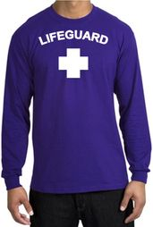 Lifeguard T-shirt Adult Long Sleeve Shirt