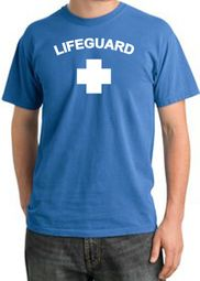 Lifeguard T-shirt Adult Pigment Dyed Shirt