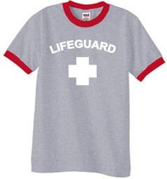Lifeguard T-shirt Adult Ringer