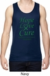 Liver Cancer Awareness Hope Love Cure Dry Wicking Tank Top