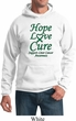 Liver Cancer Awareness Hope Love Cure Hoodie
