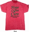 Liver Cancer Awareness Hope Love Cure Mineral Tie Dye Shirt