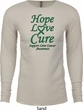 Liver Cancer Awareness Tee Hope Love Cure Thermal Shirt