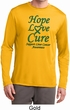 Liver Cancer Hope Love Cure Dry Wicking Long Sleeve