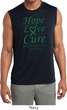 Liver Cancer Hope Love Cure Dry Wicking Sleeveless Shirt