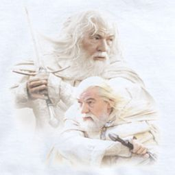 Lord Of The Rings Gandalf The White Shirts
