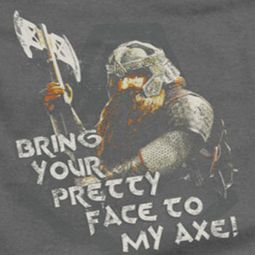 Lord Of The Rings Gimli With Axe Shirts
