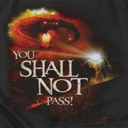 Lord Of The Rings Shall Not Pass Shirts