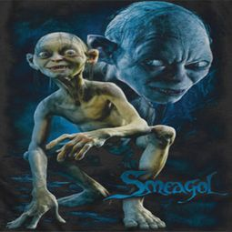 Lord Of The Rings Smeagol Shirts