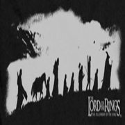 Lord Of The Rings The Fellowship Black And White Shirts