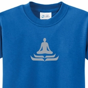 Lotus Pose Kids Yoga T-shirts