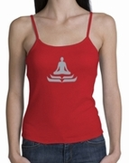 Lotus Pose Ladies Yoga Shirts