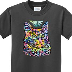 Love Cat Kids Shirts