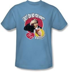 Lucy Shirt - Oh No You Dunt Carolina Blue Adult Tee