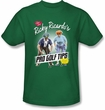 Lucy Shirt - Pro Golf Tips Funny Kelly Green Adult Tee