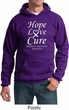 Lung Cancer Hoodie Hope Love Cure Hoody