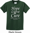 Lung Cancer Hope Love Cure Kids T-shirt