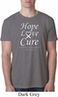 Lung Cancer Tee Hope Love Cure Burnout Shirt
