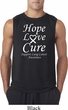 Lung Cancer Tee Hope Love Cure Sleeveless Shirt