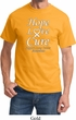 Lung Cancer Tee Hope Love Cure T-shirt