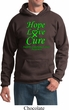 Lymphoma Cancer Awareness Hope Love Cure Hoodie