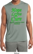 Lymphoma Cancer Hope Love Cure Dry Wicking Sleeveless Shirt