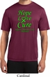 Lymphoma Cancer Hope Love Cure Dry Wicking T-shirt