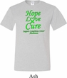Lymphoma Cancer Hope Love Cure Tall T-shirt