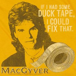 MacGyver Duct Tape Shirts