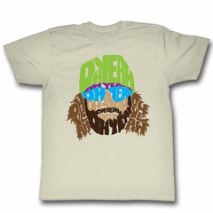 Macho Man Shirt Oh Yea Face Natural T-Shirt