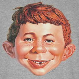 Mad Magazine Alfred Head Ringer Shirts
