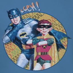 Mad Magazine Batman And Alfred Shirts