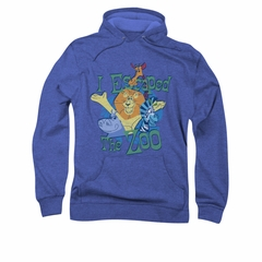 Madagascar Hoodie Sweatshirt Escaped Royal Blue Adult Hoody Sweat Shirt